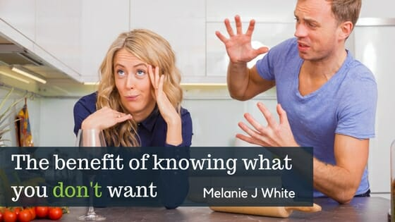 Knowing What You Don't Want | Melanie White